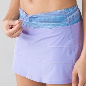 RARE Lululemon Pace Rival Skirt Size 8